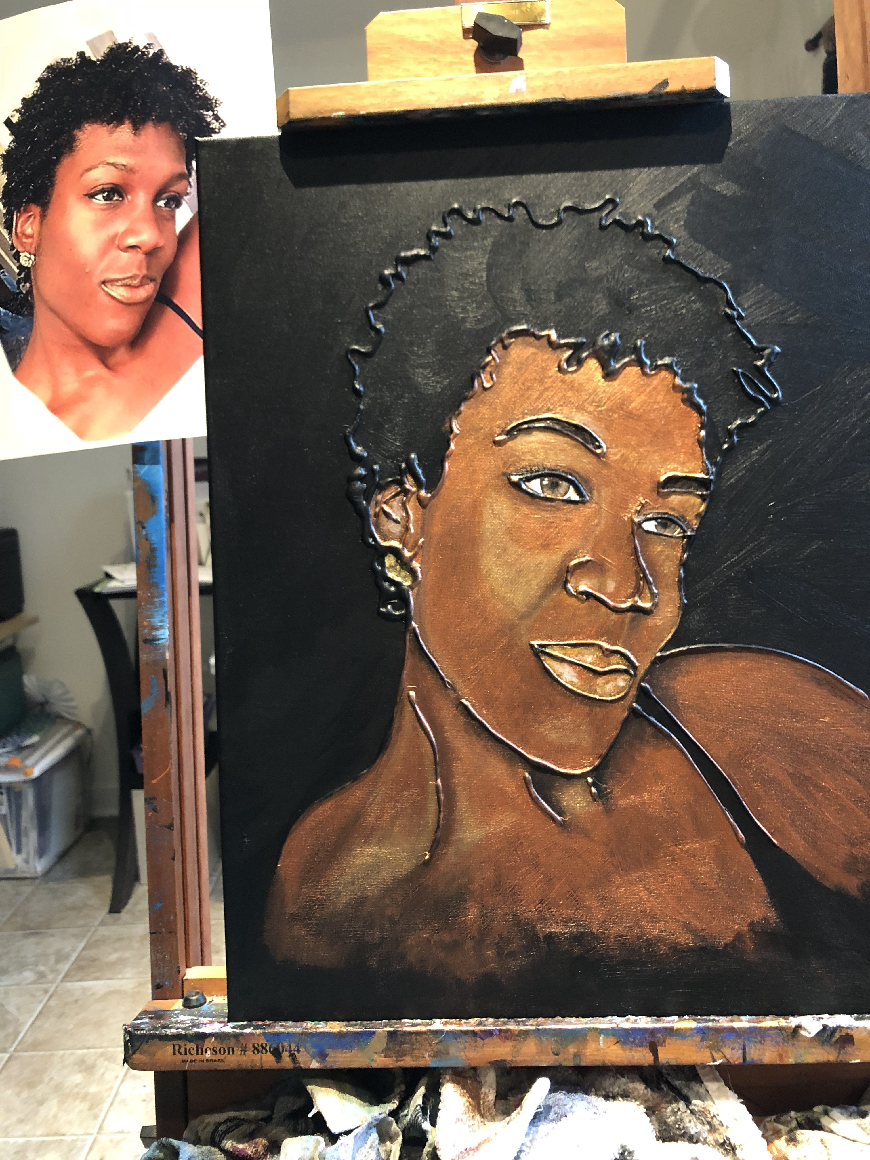 Commissioned painting